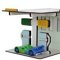 Гаражи, парковки, СТО, заправки, мойки для машинок Хот Вилс и Маквин
