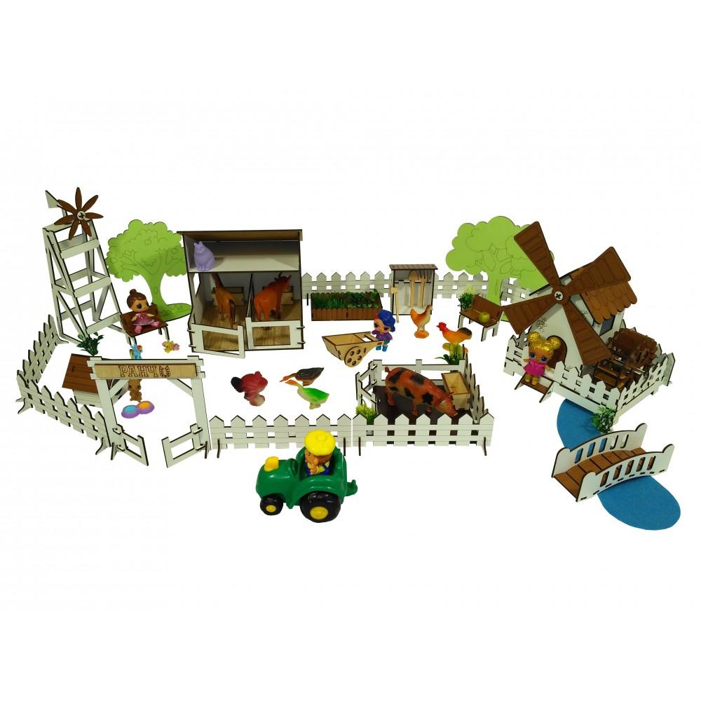 Набор мебели Веселое Ранчо с Мельницей