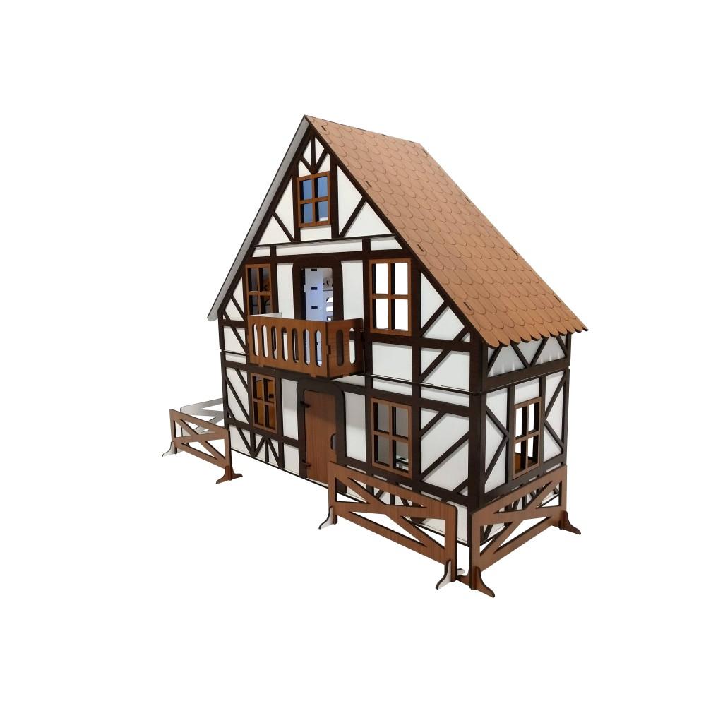Баварский Домик с мебелью
