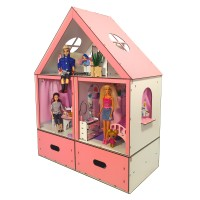Кукольный домик Особняк Барби LUX