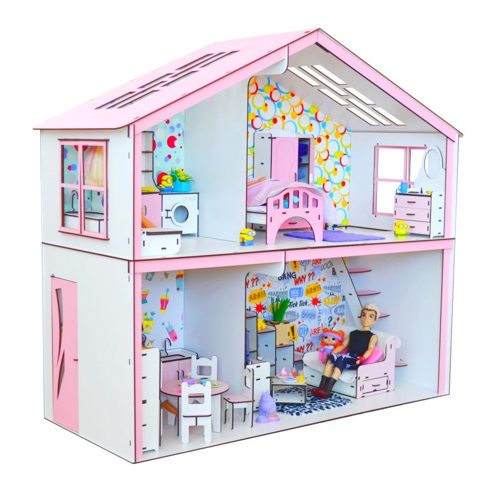 Кукольный домик Волшебный Коттедж Барби