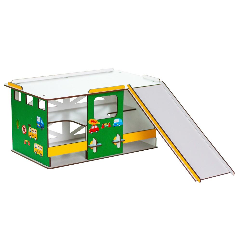 Игровой набор Парковка с эстакадой